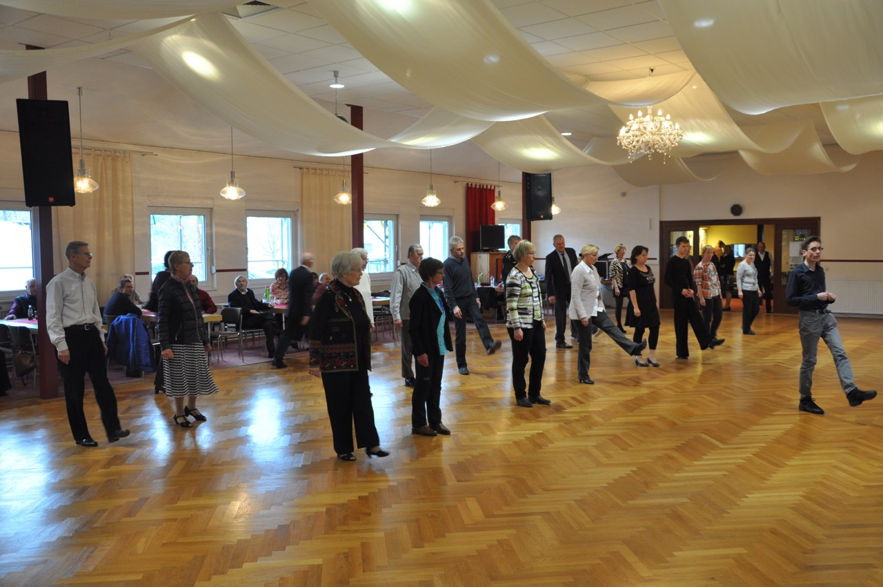 Western Line Dance Image Foto